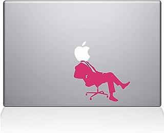 "The Decal Guru 1035-MAC-13A-P Apple CEO MacBook Decal Vinyl Sticker - 13"" MacBook Pro (2016 & Newer) - Pink"