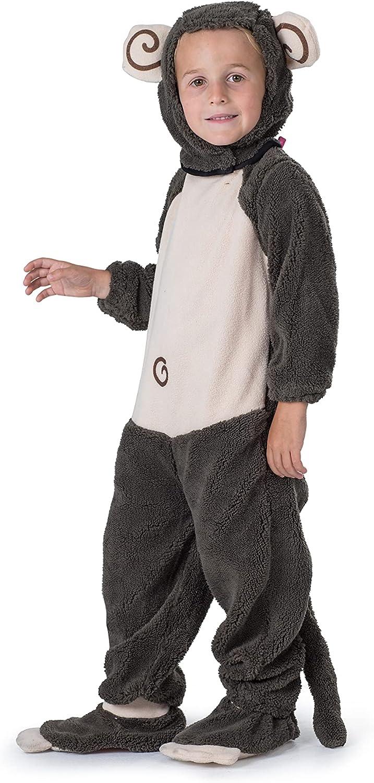 Dress Up America - Monito de Peluche, Disfraz para niños, 3-4 años (565-T4)