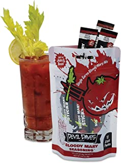 Devil Daves Bloody Mary Seasoning   12 Pack Pouch