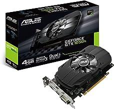 ASUS PH-GTX1050TI-4G - Tarjeta gráfica (NVIDIA GeForce GTX 1050 Ti, 4 GB GDDR5, 7680 x 4320 Pixeles, GDDR5, PCI Express 3.0) Color Negro