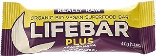 Life Food Organic Lifebar Plus Acai Banana , 47G