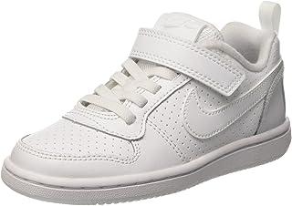 34819e461c79 NIKE Boys  Court Borough Mid Print (GS) Basketball Shoe