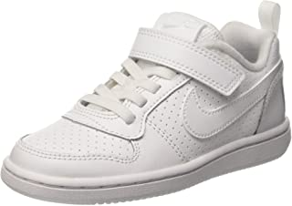 Nike Australia Court Borough Low (PS) Boys Trainers, White/White