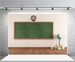 AOFOTO 7x5ft Classroom Backdrop Blackboard Photography Background Student Teacher Boy Girl Artistic Portrait School Chalkboard Photo Shoot Studio Props Video Drop Vinyl Wallpaper Drape