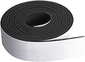 """NEOPRENE RUBBER SHEET STRIP1//8/"""" thick X 4/"""" wide X 10/' PSA ADHESIVE ONE SIDE"""