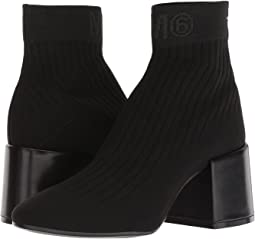 MM6 Maison Margiela Logo Sock Bootie