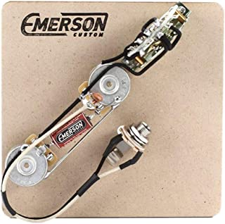 Emerson Custom 3-Way Prewired Kit for Fender Telecasters - 250k Pots