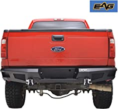 EAG Truck Step Rear Winch Bumper with D-Ring