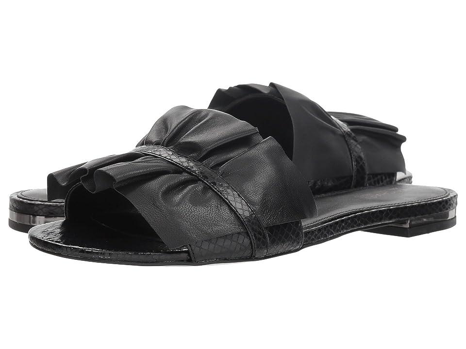 MICHAEL Michael Kors Bella Slide (Black) Women
