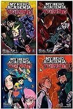 My Hero Academia: Vigilantes Series 1-4 Books Collection Set