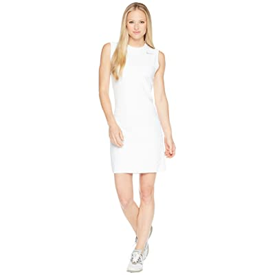 Nike Golf Flex Sleeveless Dress (White/Flat Silver) Women