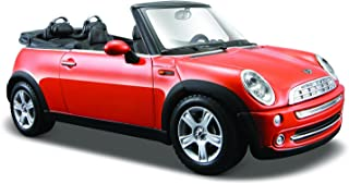 Maisto 1:24 Scale Mini Cooper Cabrio Diecast Vehicle(Color may vary)