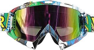 logas Motorradbrille Cross Winddicht Skibrille Anti Fog Snowboardbrille Anti impact für Herren/Damen/Kinder
