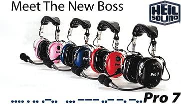 Heil PS 7 Black Headset & boom mic