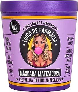 Máscara Matizadora Loira de Farmácia, Lola Cosmetics