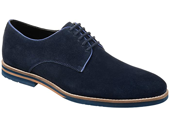 Men's 1950s Shoes Styles- Classics to Saddles to Rockabilly Thomas  Vine Gunner Plain Toe Derby $99.99 AT vintagedancer.com