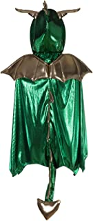Great Pretenders Dragon Cape, Green (Size 5/6) Dress-Up Play