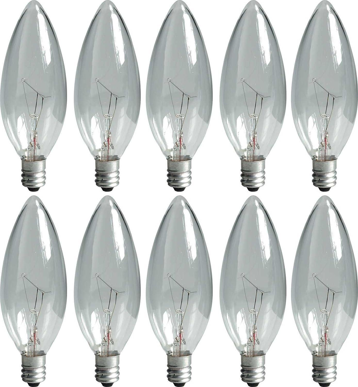 GE Crystal Clear Blunt Ranking TOP16 Tip Decorative 95 Bulbs Watt Fashion 15 Light