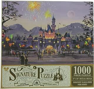 Disney Parks Signature Puzzle Sleeping Beauty Castle - Hong Kong Disneyland