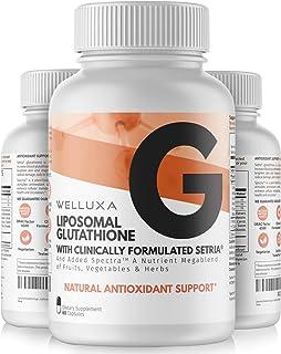 Liposomal Glutathione Setria® (600 mg) – Pure Reduced Glutathione Capsules for..