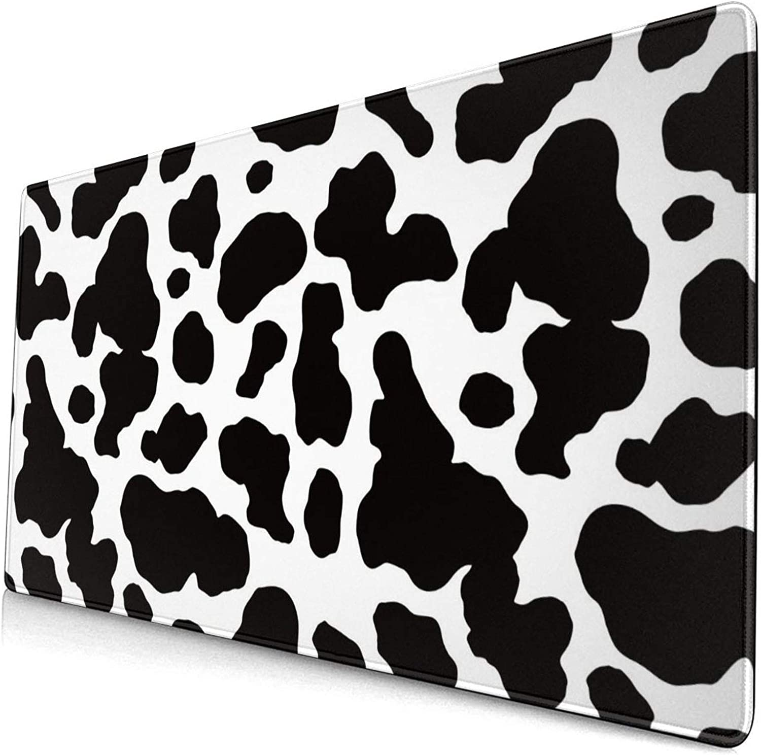 King Dare Great interest Cow Print Large Deluxe Mouse Exteneded Desk Gaming Pad
