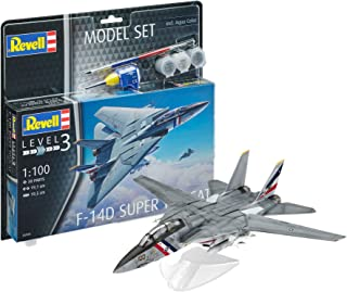 Revell Model Set- Maquette d'avion en Model Set F-14 D Super Tomcat, 63950
