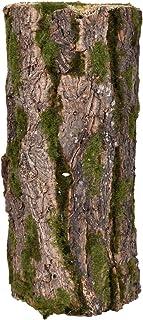YATAI Fairy Garden and Terrarium Decorative Mossy Tree Stump Display Riser Cover for Yard, Landscape, and Garden (Medium)
