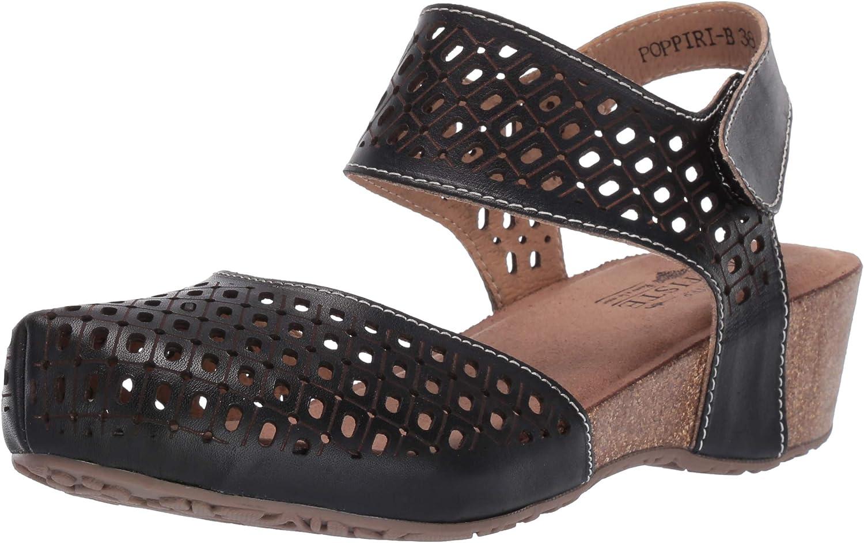 L'Artiste Max 58% OFF Women's Long Beach Mall Poppiri Leather Strap Sandal Ankle