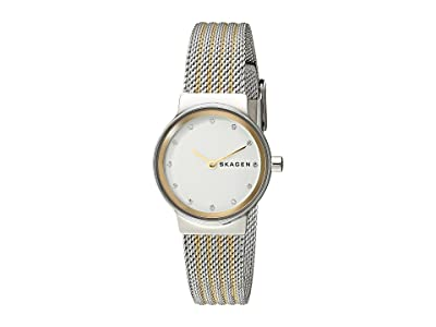 Skagen Freja Two-Hand Stainless Steel Mesh Watch (SKW2698 Two-Tone Stainless Steel Mesh) Watches