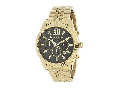 Michael Kors MK8286 Oversized Lexington Chronograph (Gold) Watches