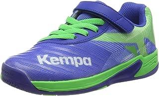 Kempa WING 2.0 Kids Indoor Sportshoe Handball 200856001 Blue / Green, shoe size:EUR 29