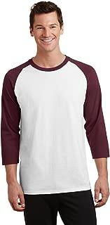 Port & Company PC55RS 3/4-Sleeve Raglan T-Shirt