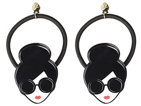 Alice + Olivia Stacey Face 3D Hair Tie