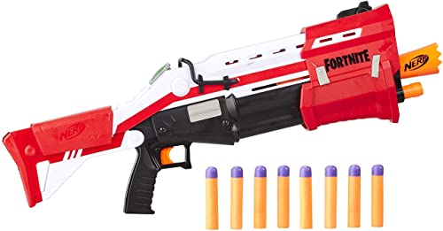 wholesale NERF Fortnite new arrival Ts Blaster -- Pump Action Dart Blaster, 8 Official Mega Fortnite Darts, Dart Storage Stock -- for Youth, Teens, discount Adults outlet online sale