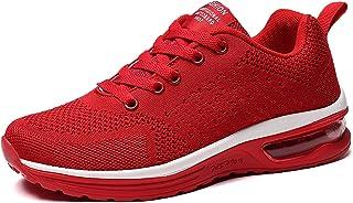GAXmi Baskets Running Femme Coussin d'air Chaussures de Mesh Respirante Confortables Légères Course Sports Fitness Sneakers