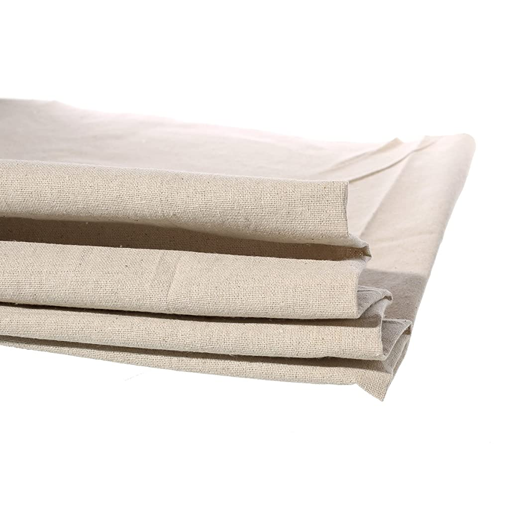 1 Yard Cotton Linen Natural Fabric Sewing DIY Cloth 158cm