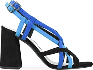 WHAT FOR Luxury Fashion Womens SS19WF034BLUE Blue Sandals | Spring Summer 19