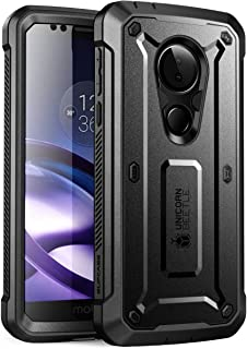 SupCase Unicorn Beetle Pro Series Case for Moto G6 Play, Moto G6 Forge, with Built-in Screen Protector for Motorola Moto G6 Play (2018 Release), Retail Package (Black)
