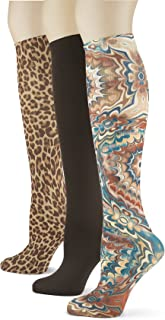 Knee High Trouser Socks w/Colorful Printed Patterns - Made in USA by Sox Trot