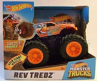 Double Trouble Clown HOT Wheels Monster Trucks REV TREDZ Monster JAM 2018 Rare!!