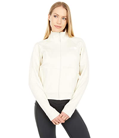The North Face Active Trail Full Zip Jacket (Vintage White Heather) Women