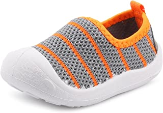 Baby Walking Shoes Slip-on Casual Shoes for Little Girls Boy Kids Breathable Mesh Light Weight Sneaker Athletic Running
