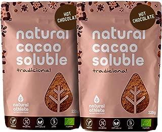 Cacao en Polvo Ecológico Soluble Natural Athlete 75% Menos