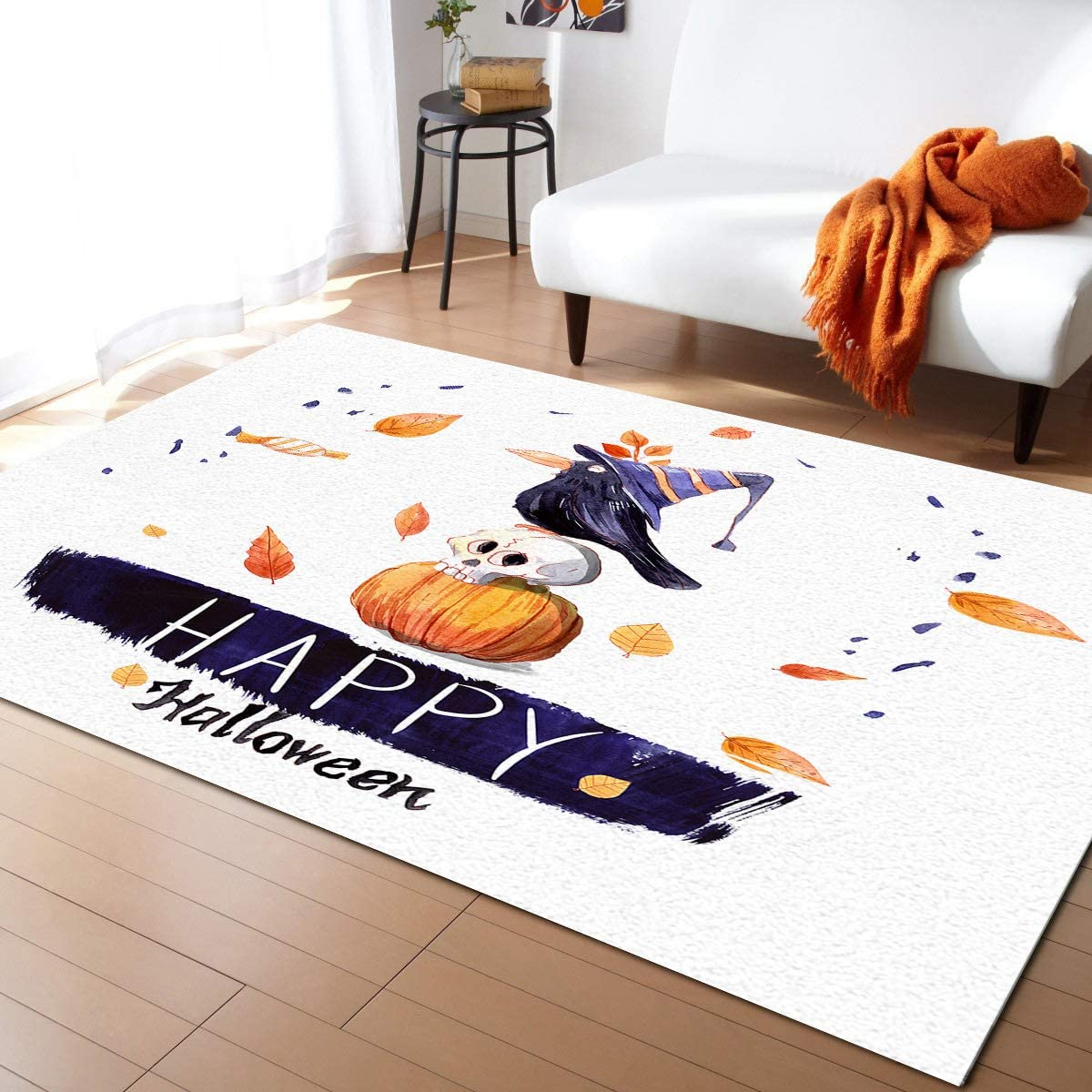 Aomike Indoor Area Rug Doormat- Our shop OFFers the best service safety Crow Happy Halloween Smiling and