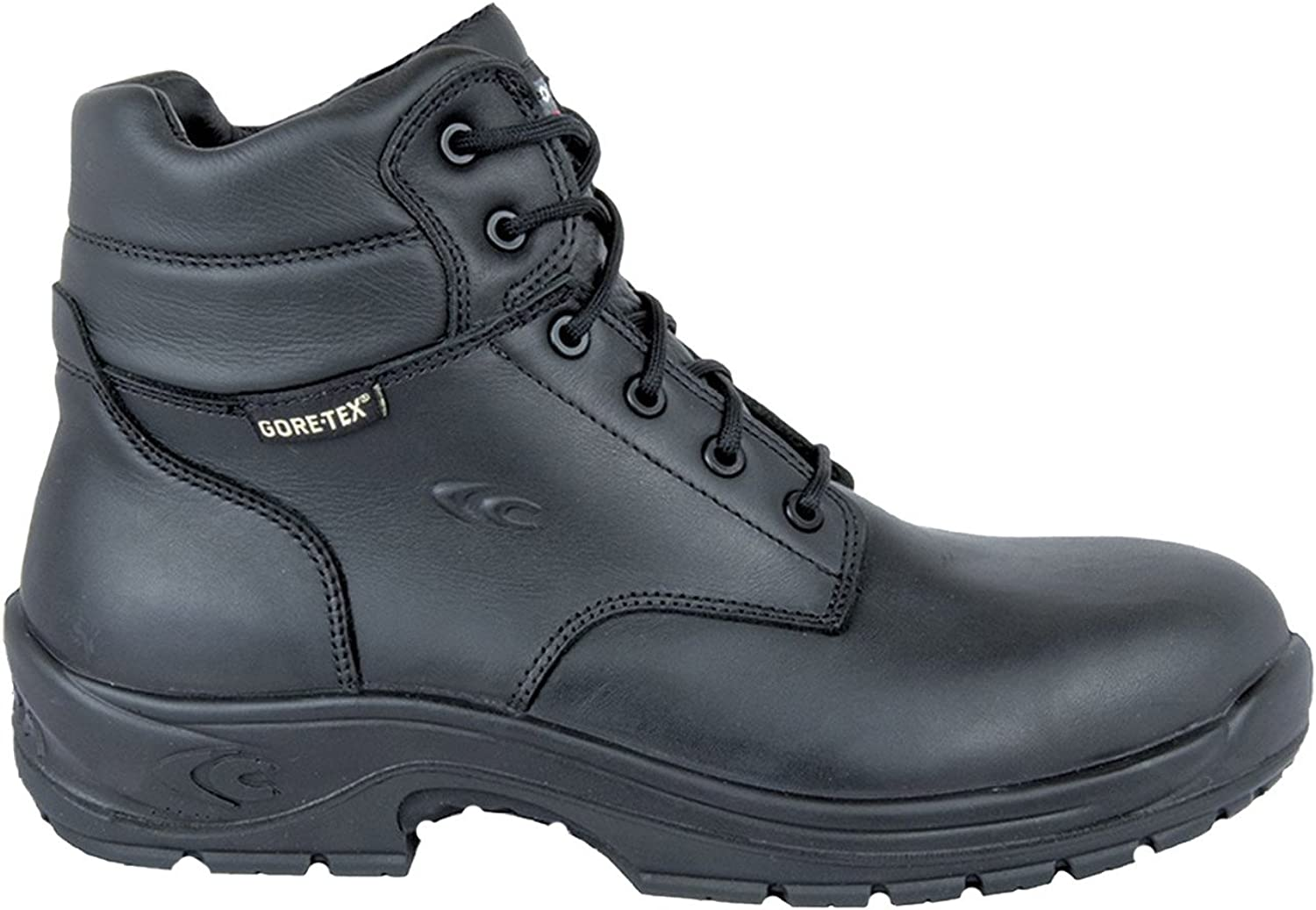 Cofra 10220-000.W42 Safety shoes Marine O2 Wr HRO SRC Fo Size 42 in Black