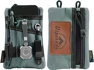 VIPERADE VE1 Pocket Organizer ، Tool Pocket Organizer برای مردان ، Pocket Organizer Storage EDC Gears ، بهترین هدیه برای سازماندهی ، نگه داشتن چراغ قوه/چاقوی جیبی ، قلم تاکتیکی ، نوت بوک (خاکستری)
