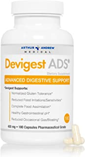 Arthur Andrew Medical - Devigest ADS, Advanced Digestive Support, Relief for Lactose Intolerance and Casein Sensitivities,...
