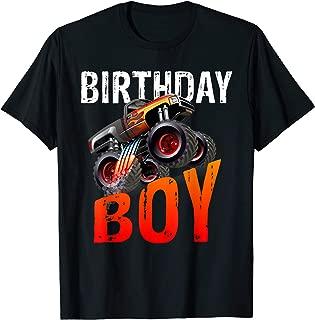 Birthday Boy - Monster Truck Rule JAM T-shirt