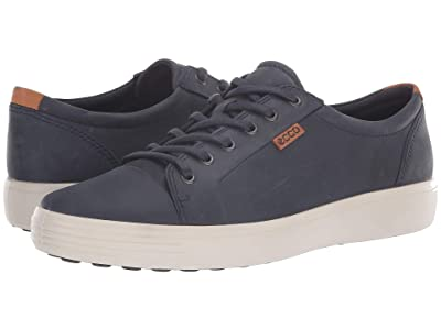 ECCO Soft 7 Sneaker (Marine) Men