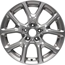 Partsynergy Replacement For New Aluminum Alloy Wheel Rim 17 Inch Fits 14-18 Jeep Cherokee 5-110mm 10 Spokes